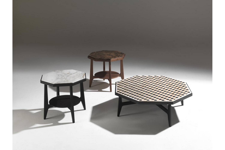 Marrakesh Side Table by E. Garbin - M. Dell'Orto for Porada