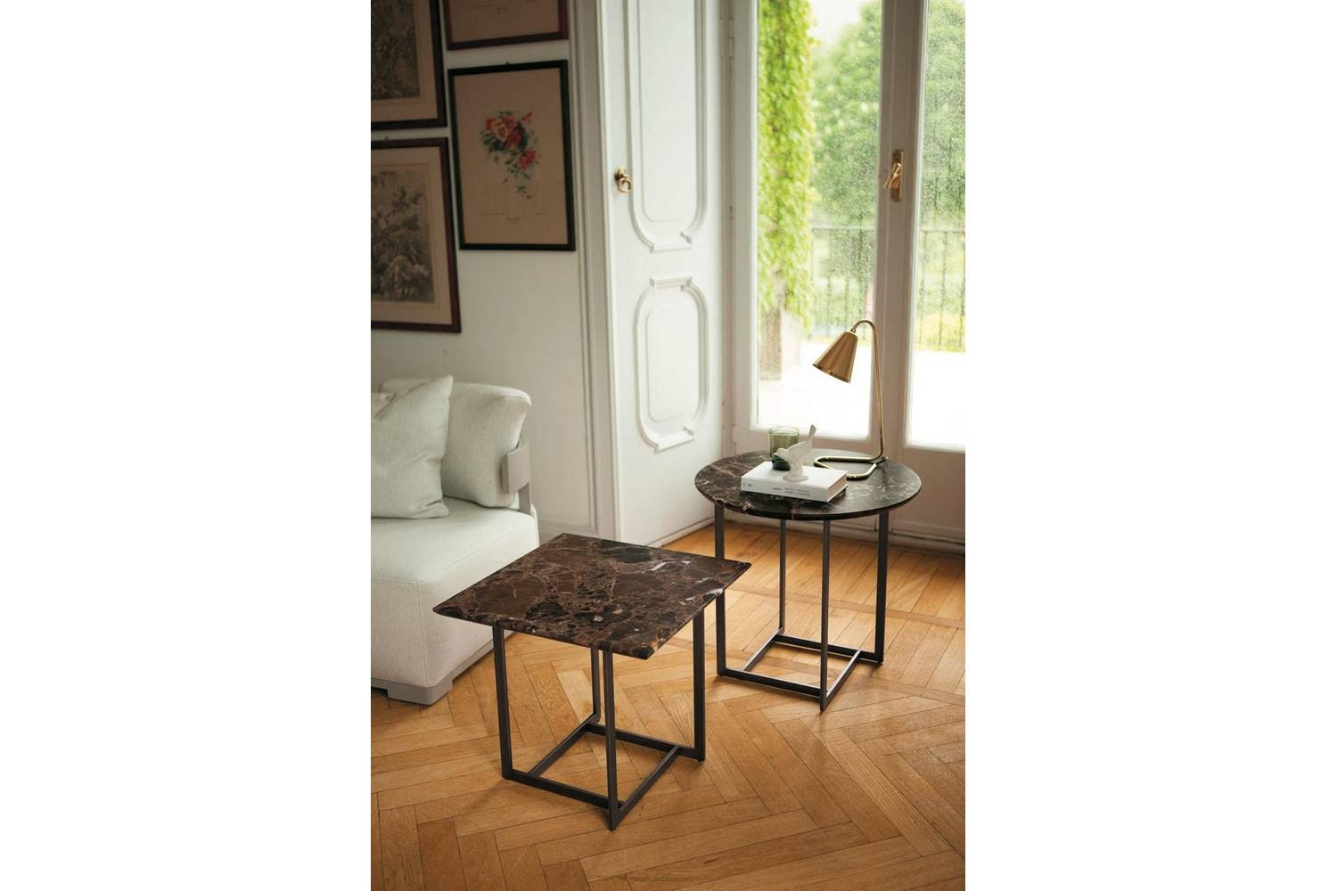 Londra Side Table by Opera Design for Porada