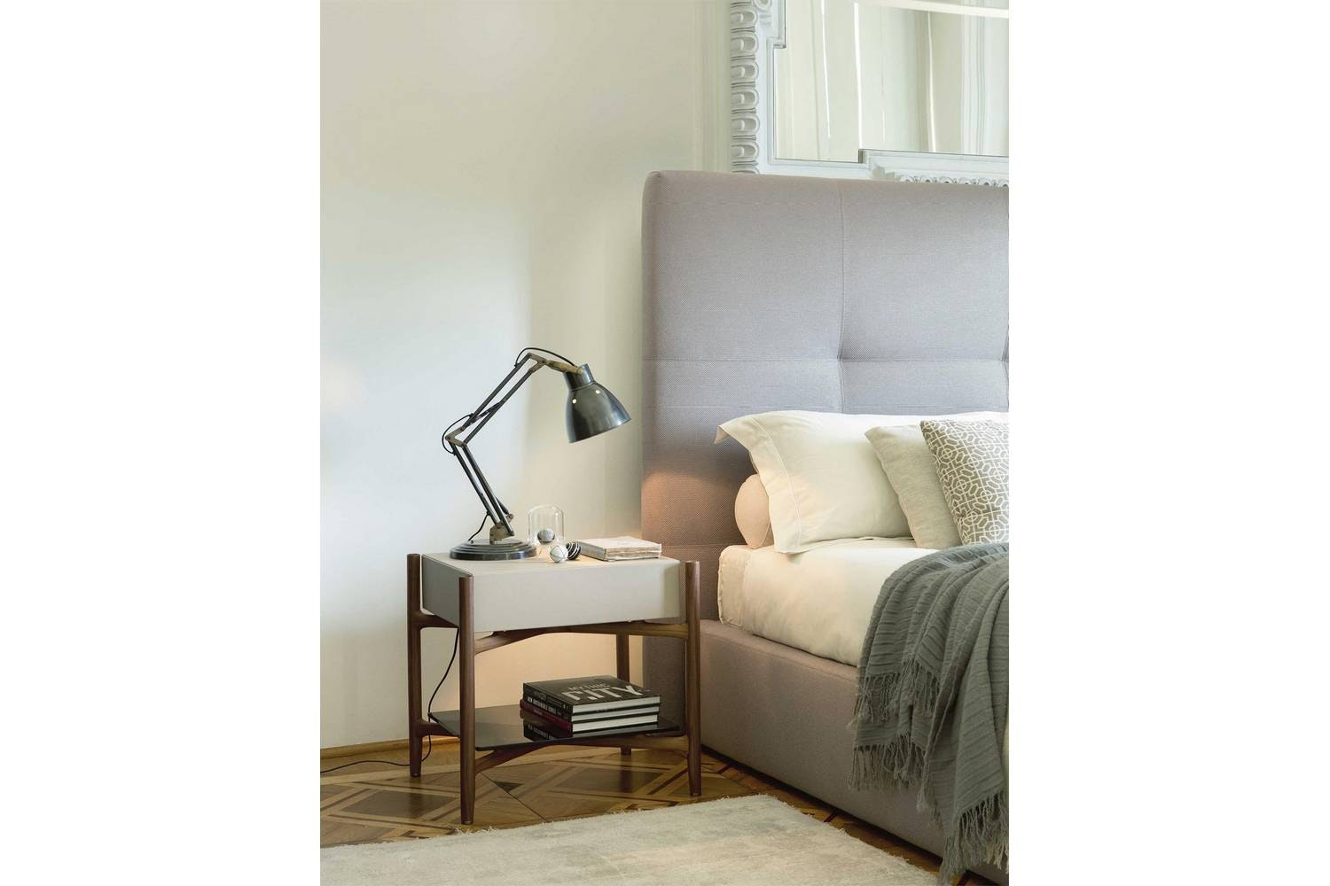 Regent Bedside Table by T. Colzani for Porada