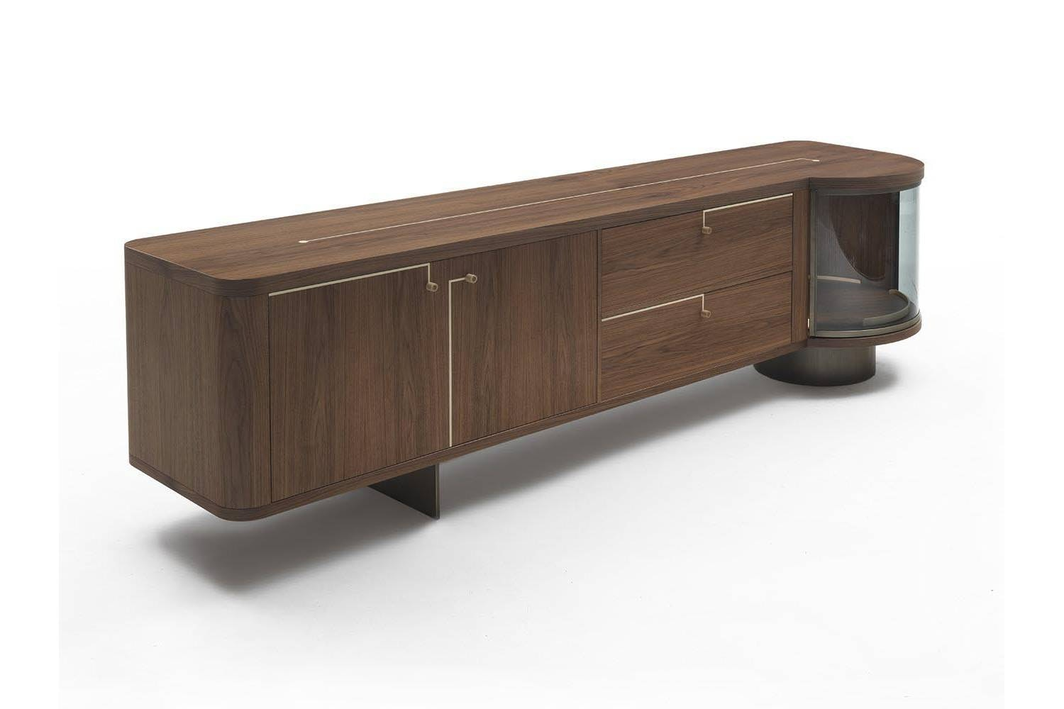 Rondo' Sideboard by U. Asnago for Porada