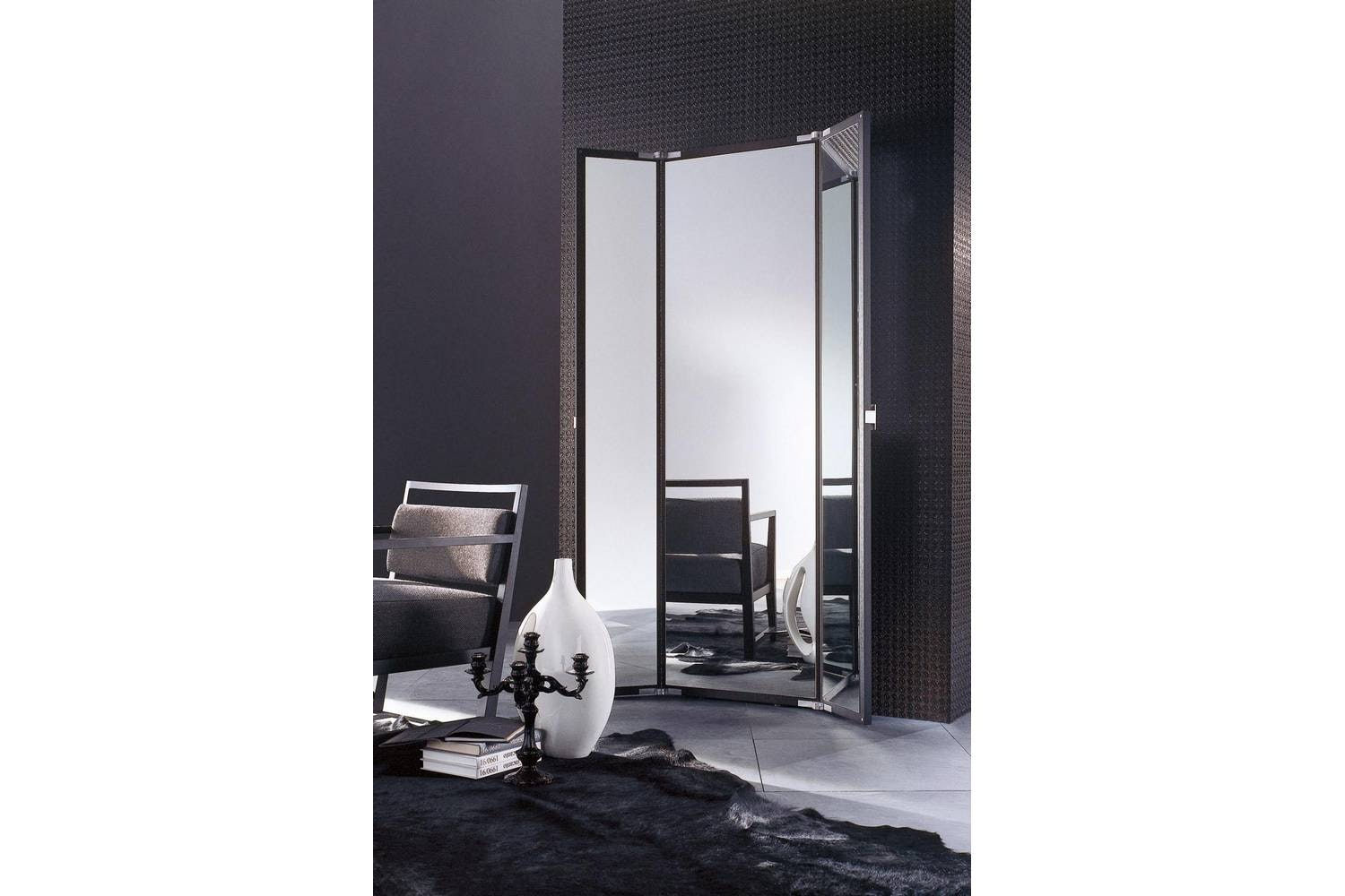 Bellavista Mirror by Marelli & Molteni for Porada