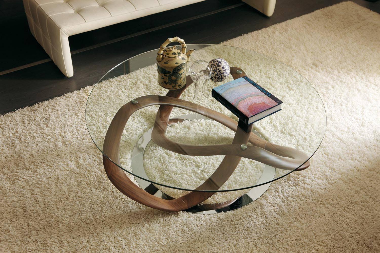 Infinity coffee table by s bigi for porada poliform for Tavoli in vetro design