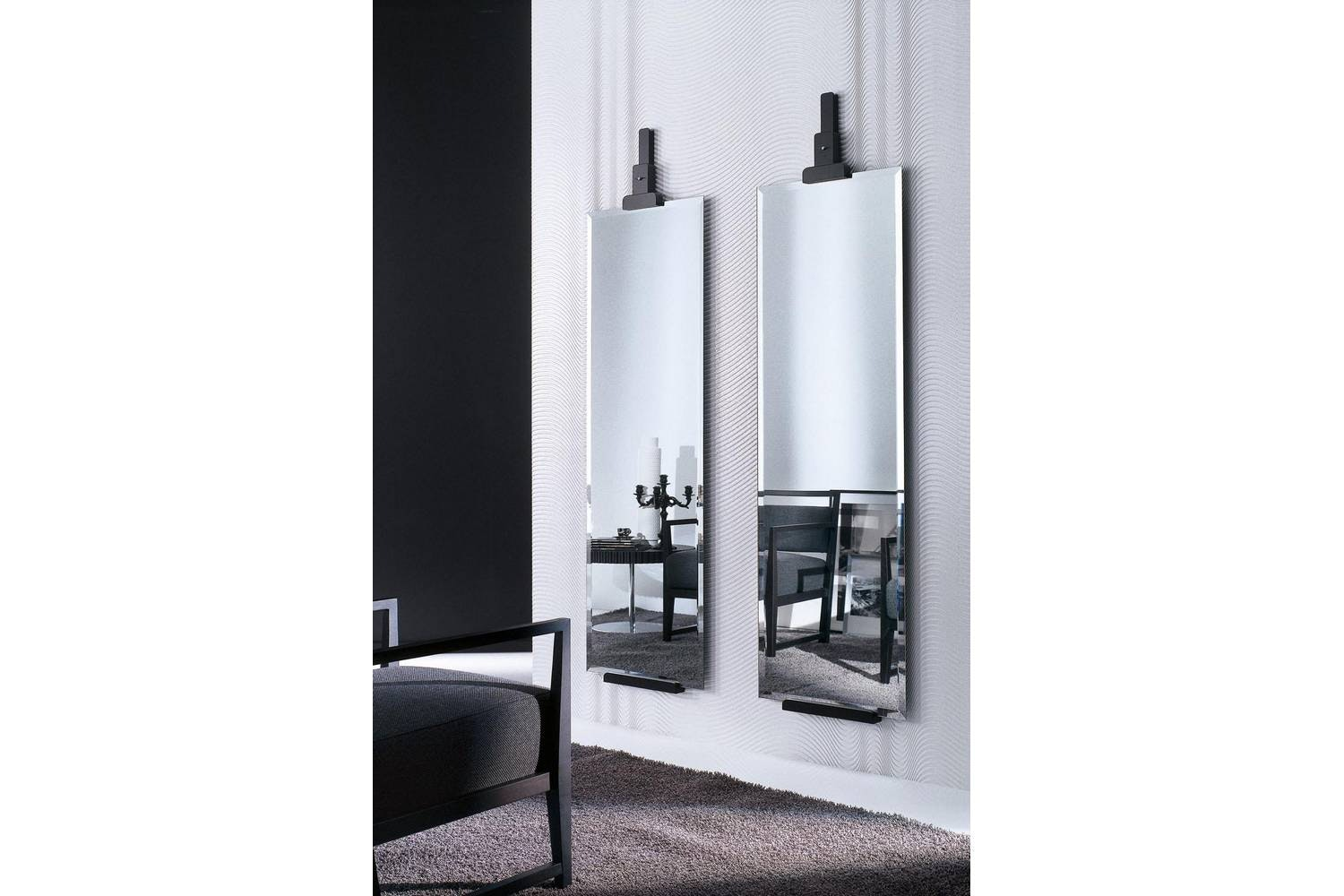 Miro Mirror by M. Seveso - L. Trezzi for Porada