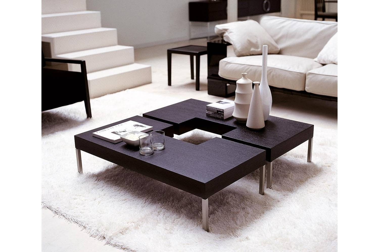Puzzle Coffee Table by T. Colzani for Porada