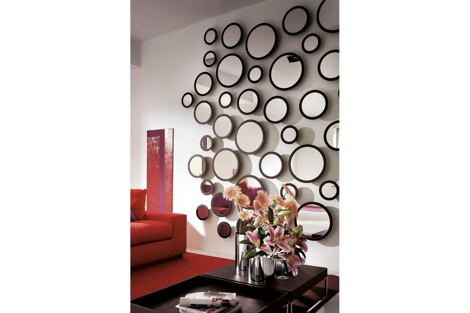 Stars Mirror by T. Colzani for Porada