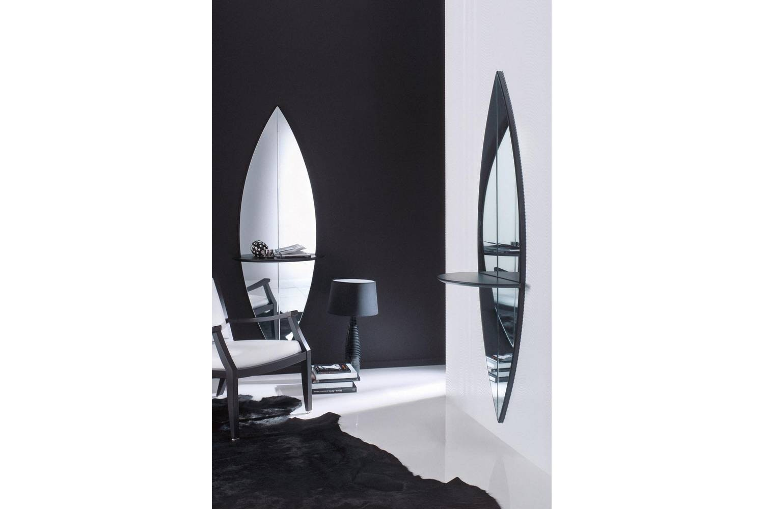 Surf Mirror by M. Perego for Porada