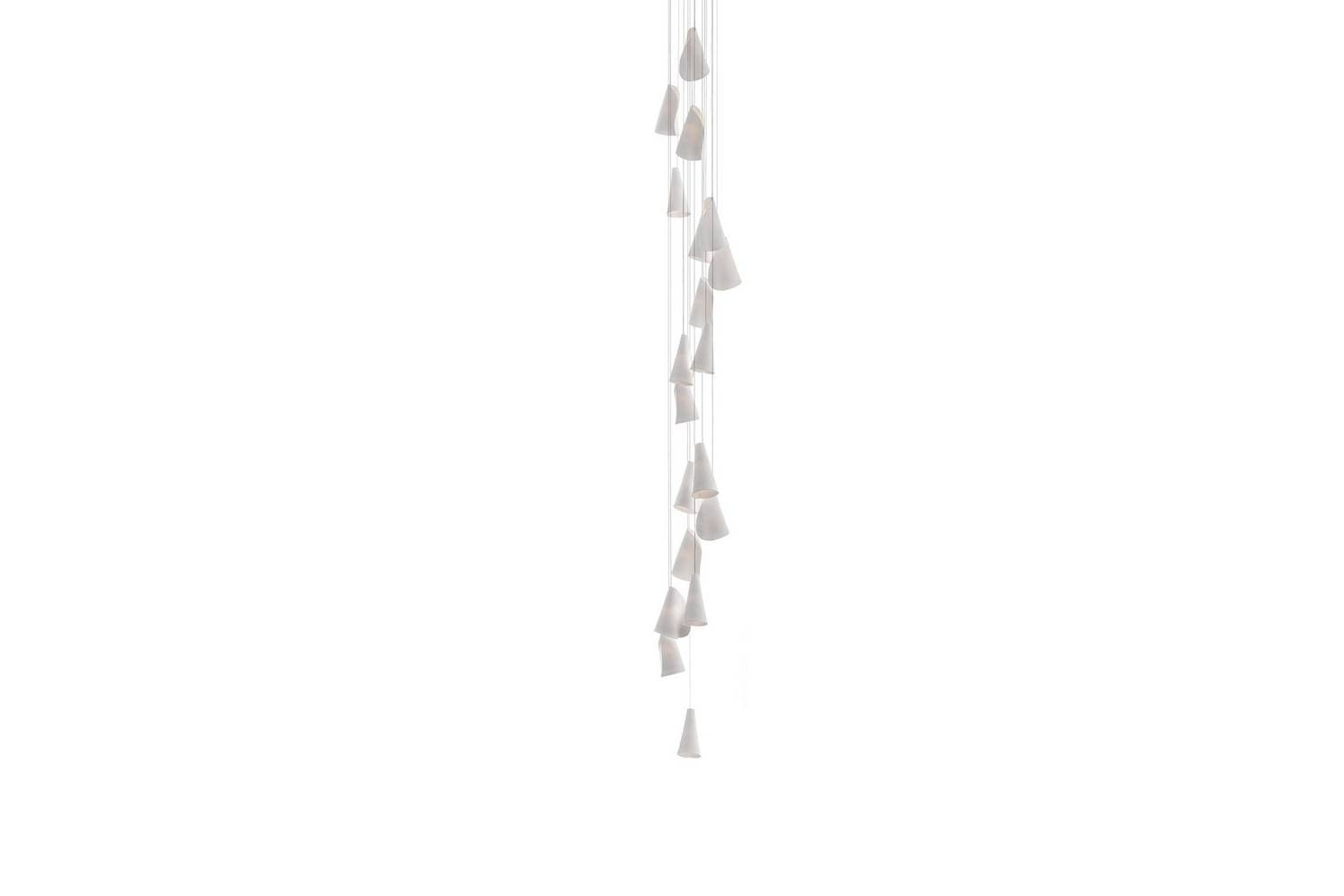 21.19 Columnar Suspension Lamp by Omer Arbel for Bocci