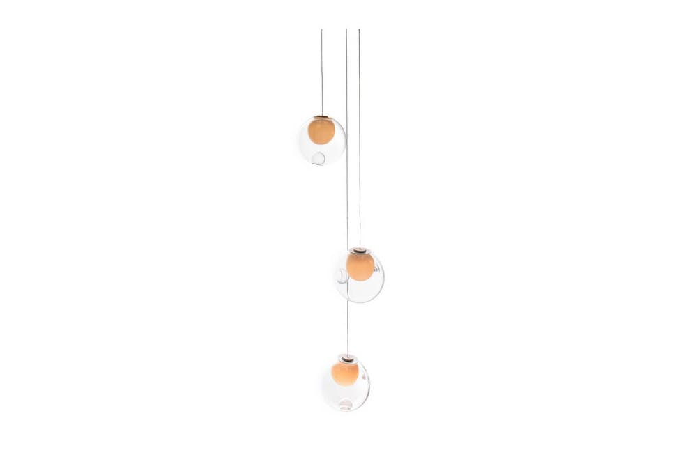 28.3 Random Suspension Lamp by Omer Arbel for Bocci
