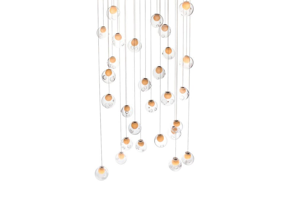28.28 Random Suspension Lamp by Omer Arbel for Bocci