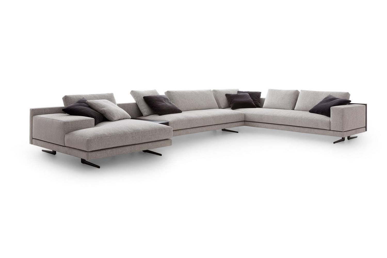 mondrian sofa by j m massaud for poliform poliform. Black Bedroom Furniture Sets. Home Design Ideas