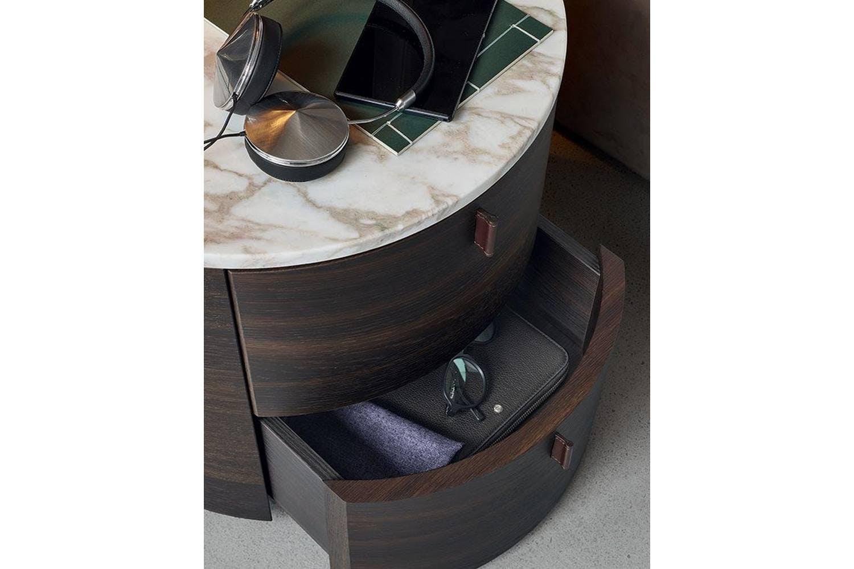 Onda Bedside Table By Paolo Piva For Poliform Poliform