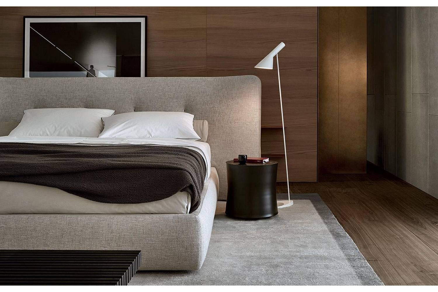 Rever Bed By Rodolfo Dordoni For Poliform Poliform Australia