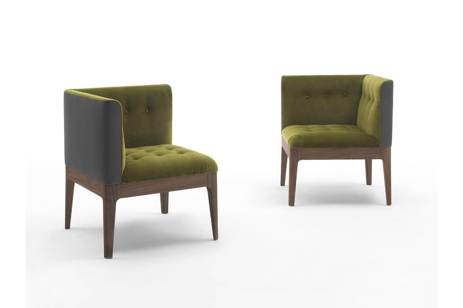 Wendy 1 Corner Chair by C. Ballabio for Porada