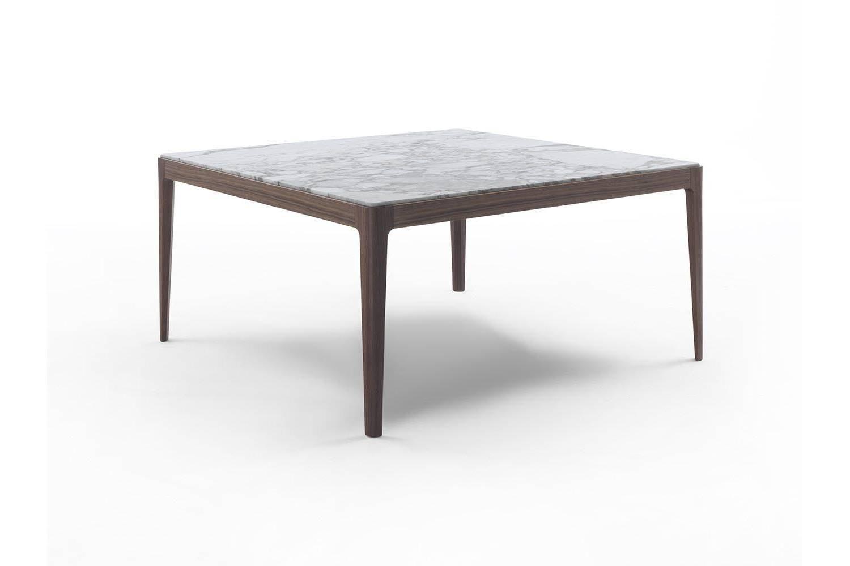 Ziggy Table 150x150 by C. Ballabio for Porada