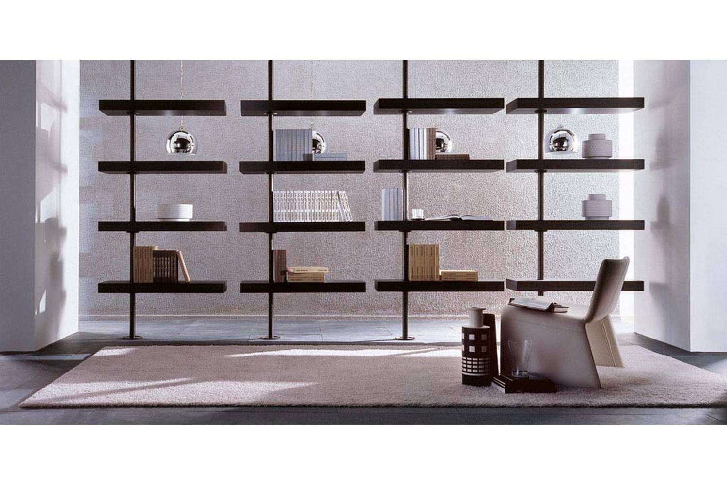 Domino Expo Bookcase by T. Colzani for Porada