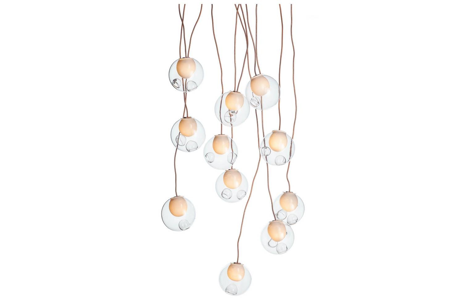 28.11 Copper Suspension Lamp by Omer Arbel for Bocci