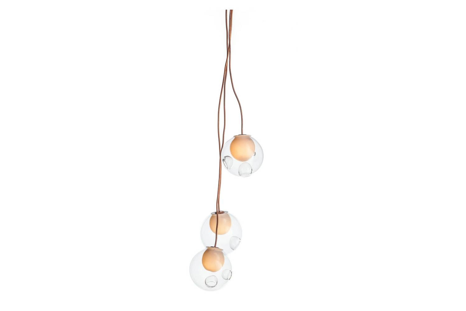 28.3 Copper Suspension Lamp by Omer Arbel for Bocci