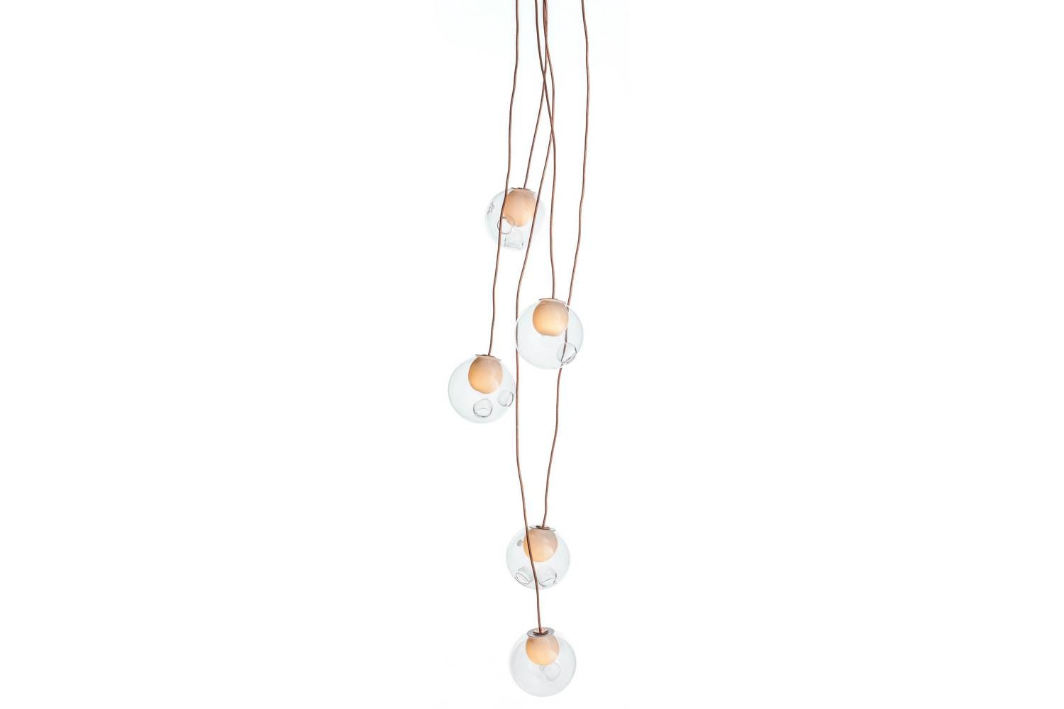 28.5 Copper Suspension Lamp by Omer Arbel for Bocci