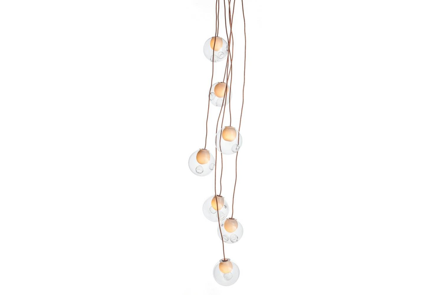 28.7 Copper Suspension Lamp by Omer Arbel for Bocci