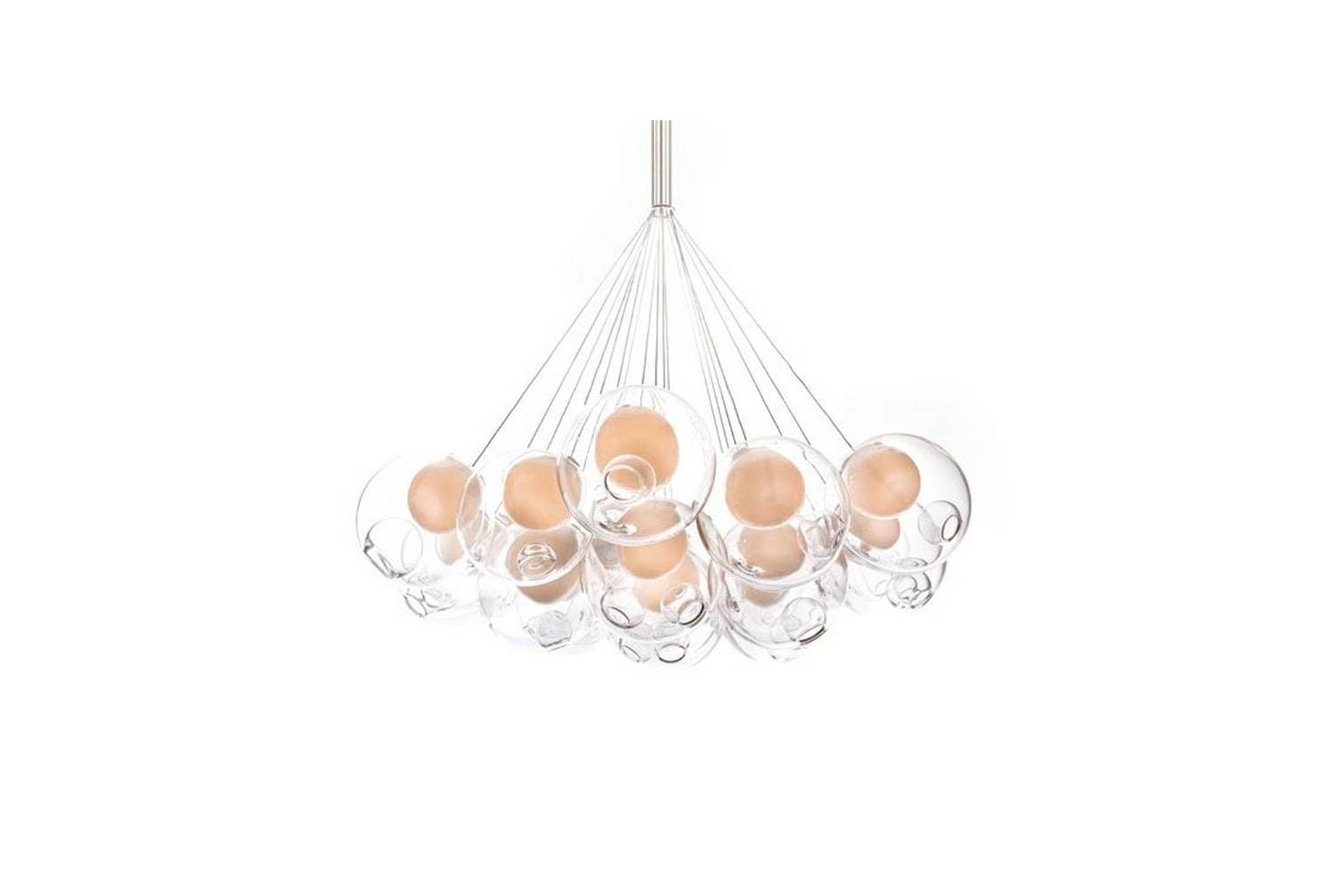 28.19 Cluster Suspension Lamp by Omer Arbel for Bocci