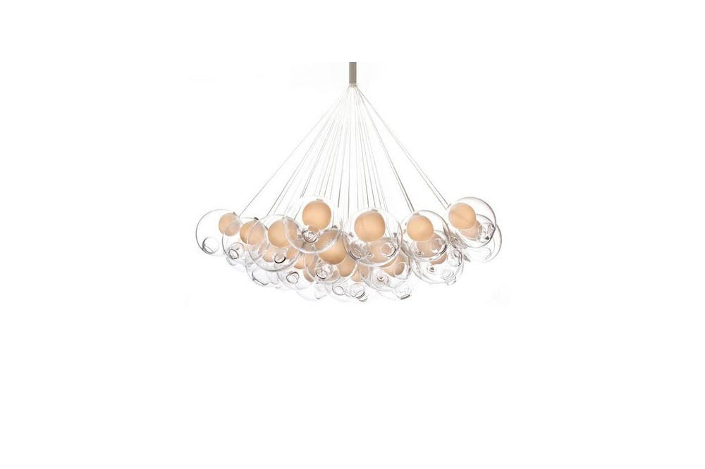 28.37 Cluster Suspension Lamp by Omer Arbel for Bocci