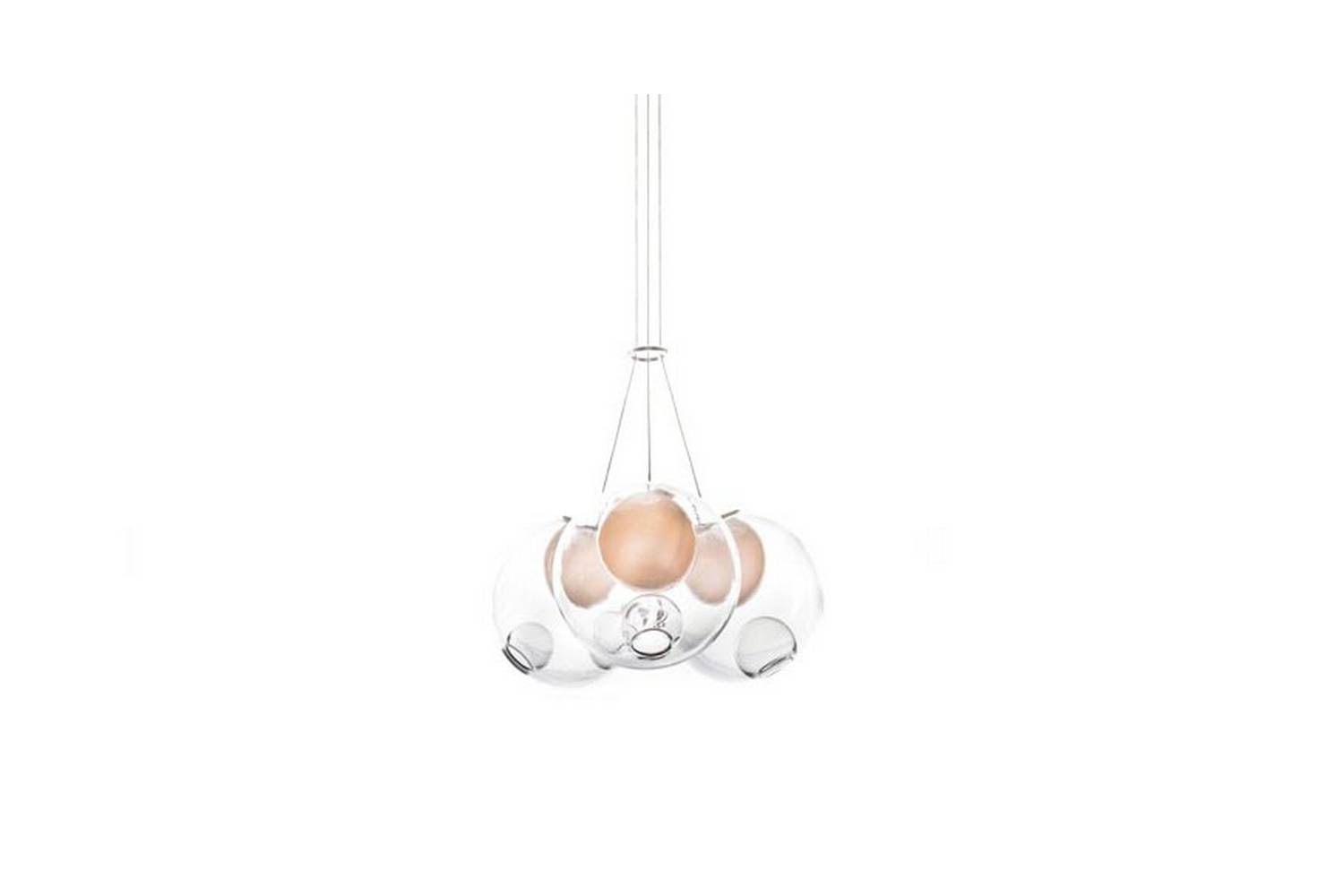 28.3 Cluster Suspension Lamp by Omer Arbel for Bocci