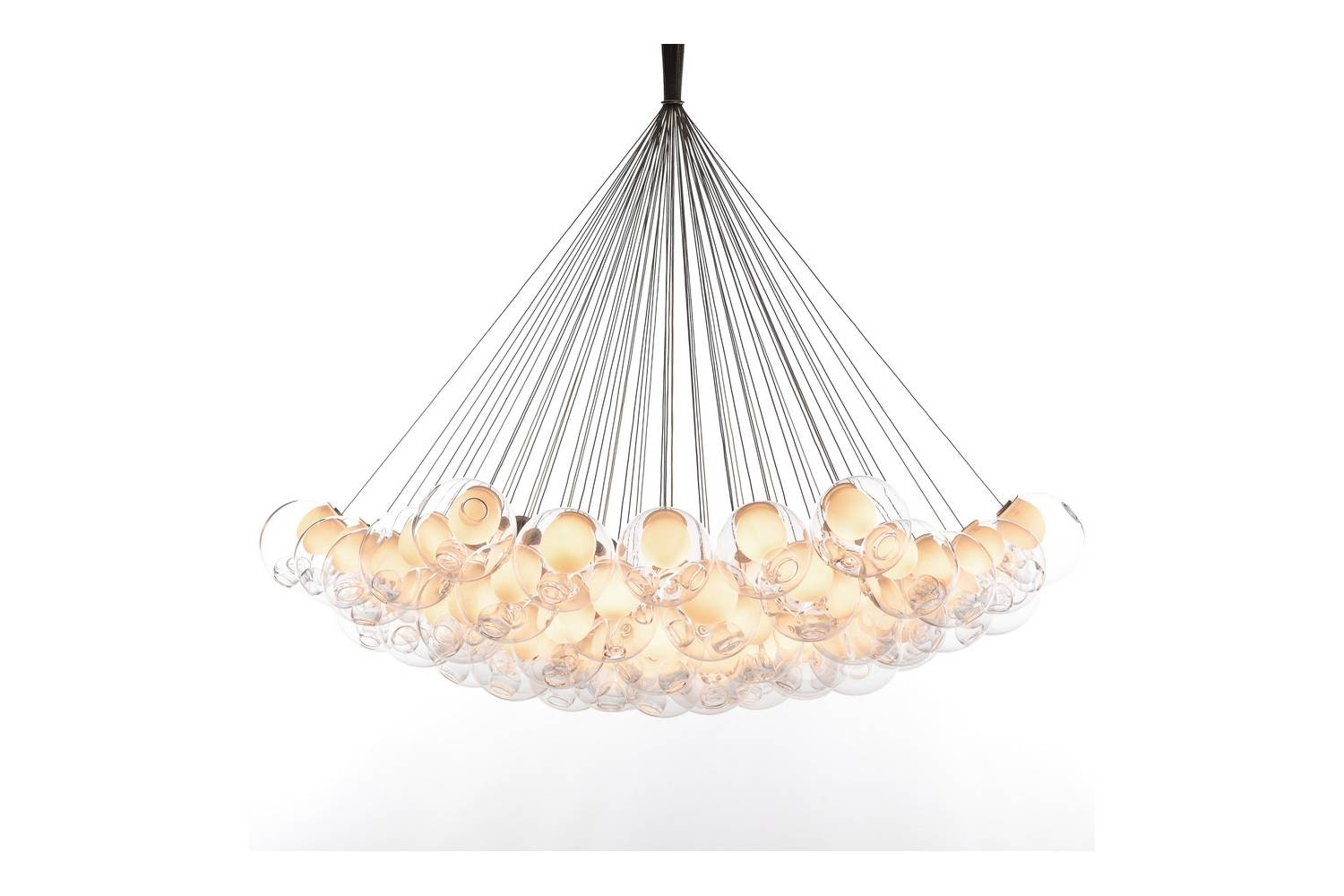 28.61 Cluster Suspension Lamp by Omer Arbel for Bocci