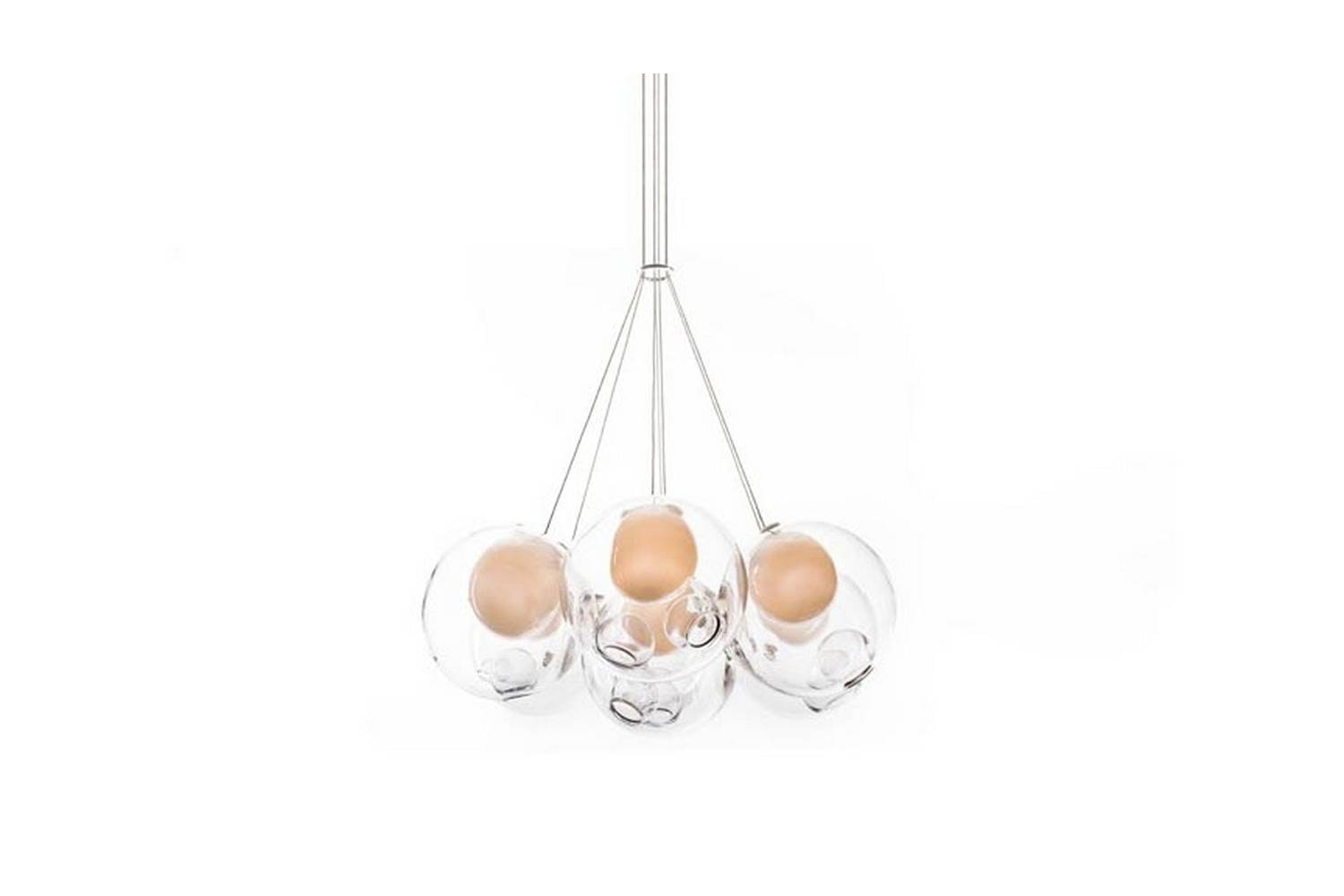 28.7 Cluster Suspension Lamp by Omer Arbel for Bocci