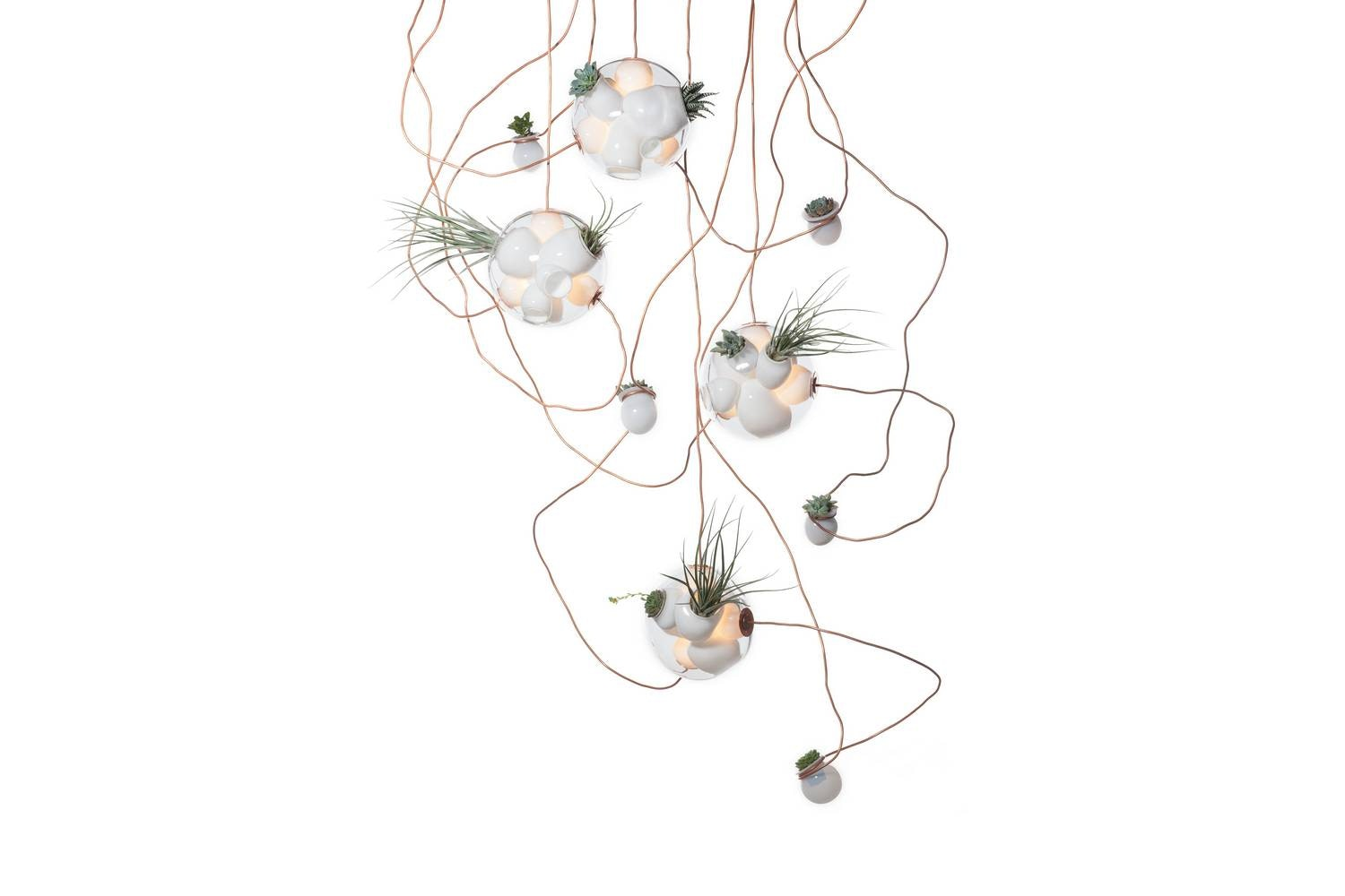 38.11 Suspension Lamp by Omer Arbel for Bocci