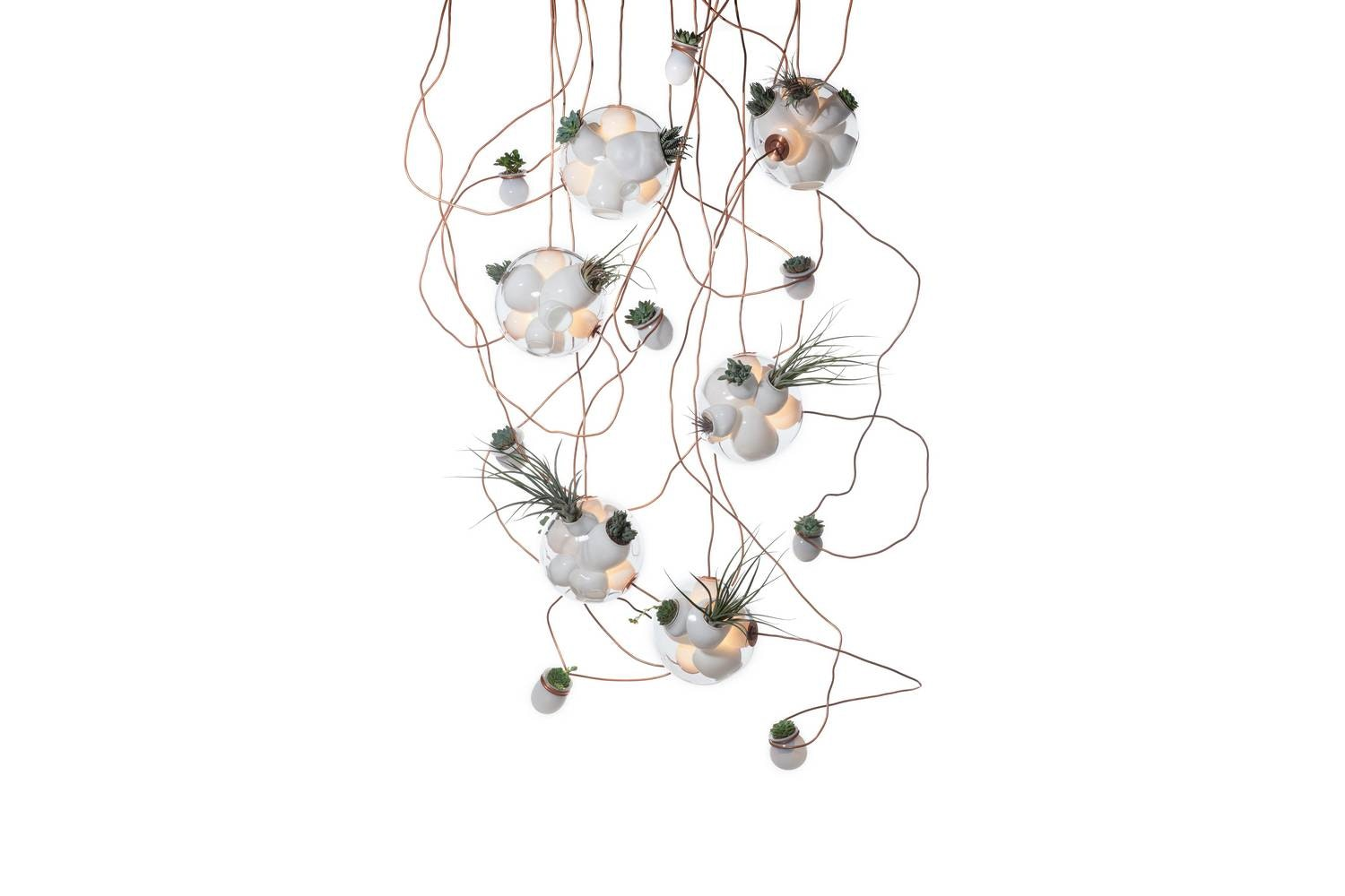 38.16 Suspension Lamp by Omer Arbel for Bocci