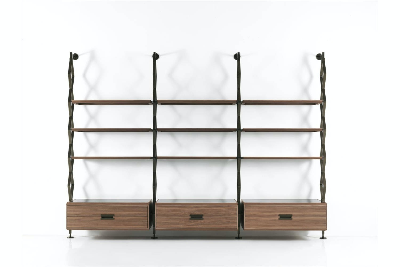 Beam Bookcase by T. Colzani for Porada