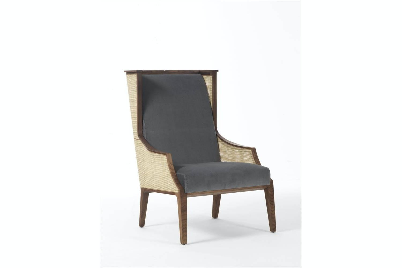 Liala Bergere Straw Armchair by U. Asnago for Porada