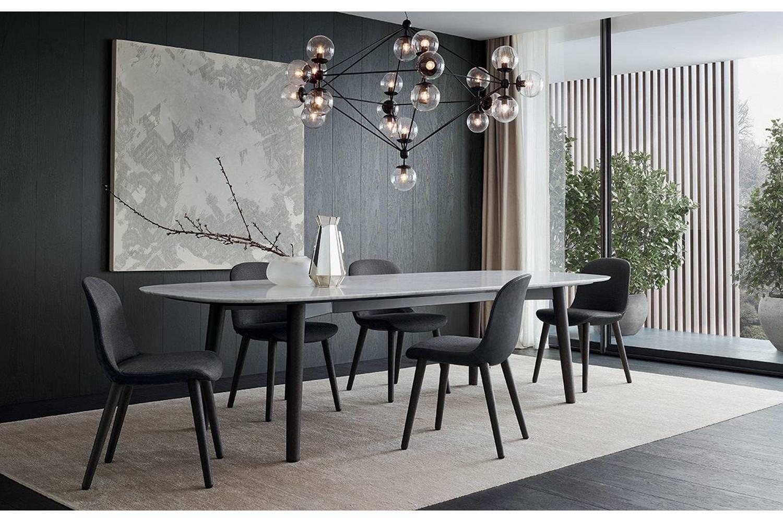 mad dining table by marcel wanders for poliform poliform australia. Black Bedroom Furniture Sets. Home Design Ideas