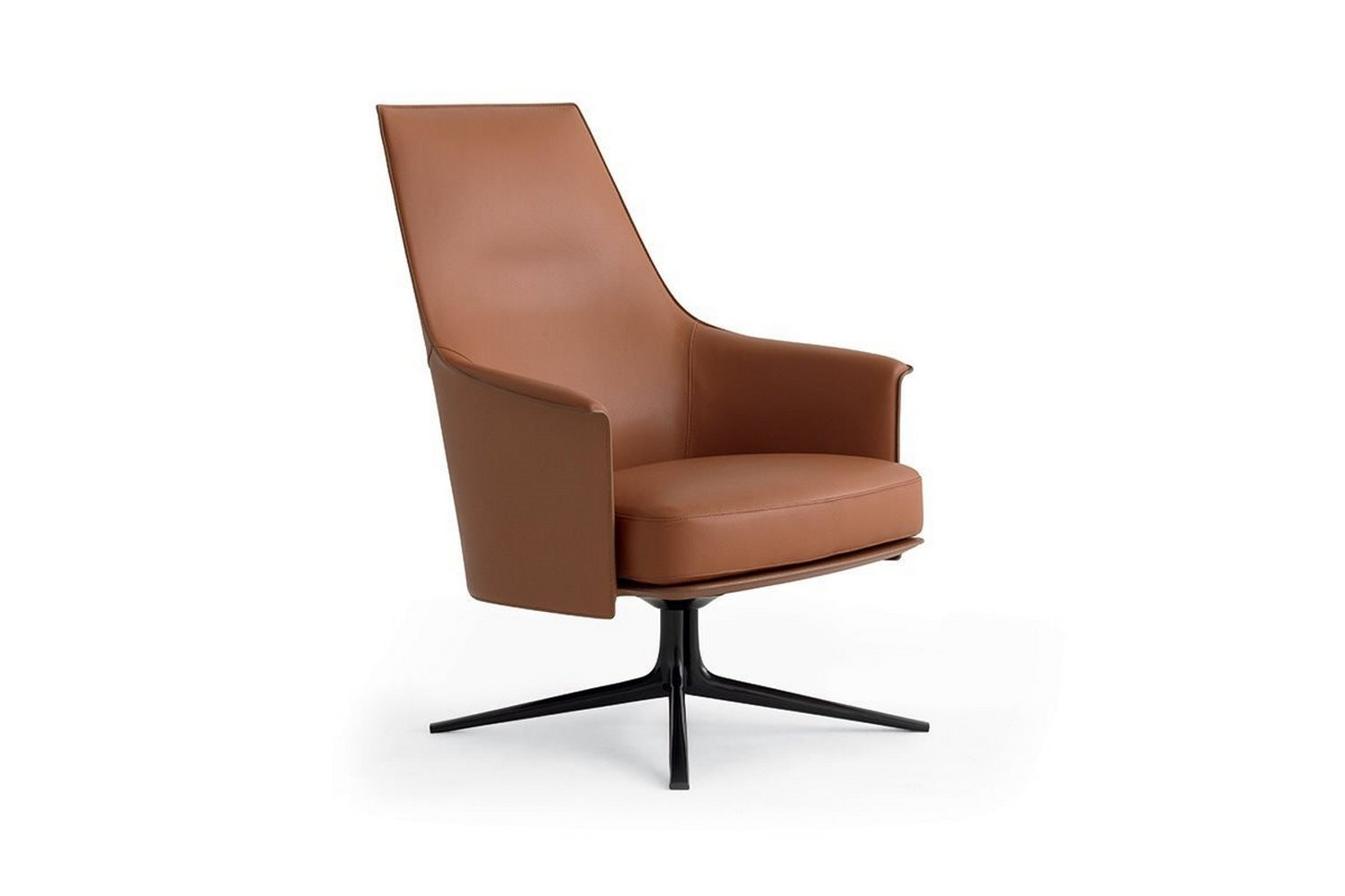 Stanford Lounge Armchair by J. M. Massaud for Poliform