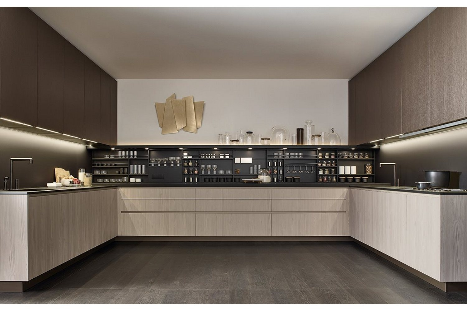 Alea Kitchen by Paolo Piva & R&D Varenna for Poliform