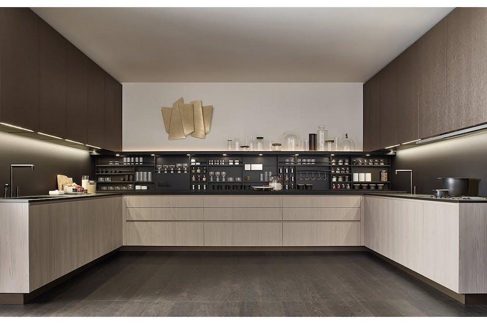 Alea kitchen by paolo piva r d varenna for poliform for Poliform kitchen designs