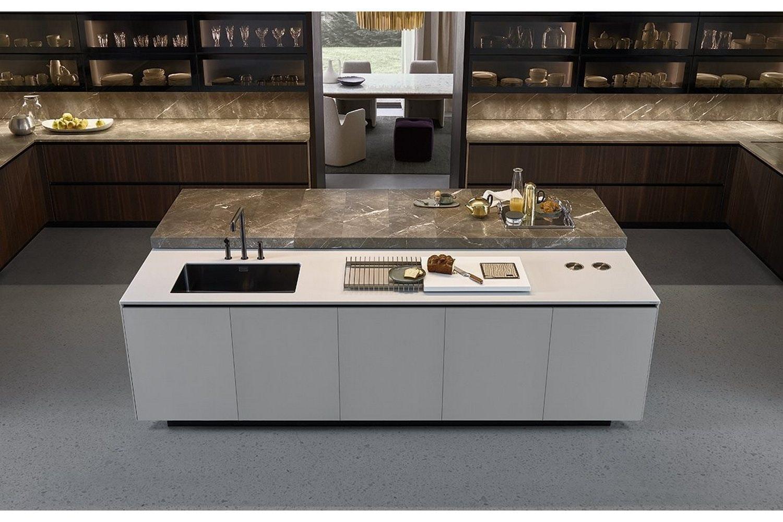 ... Poliform Alea Kitchen By Paolo Piva U0026 Ru0026D Varenna For ...
