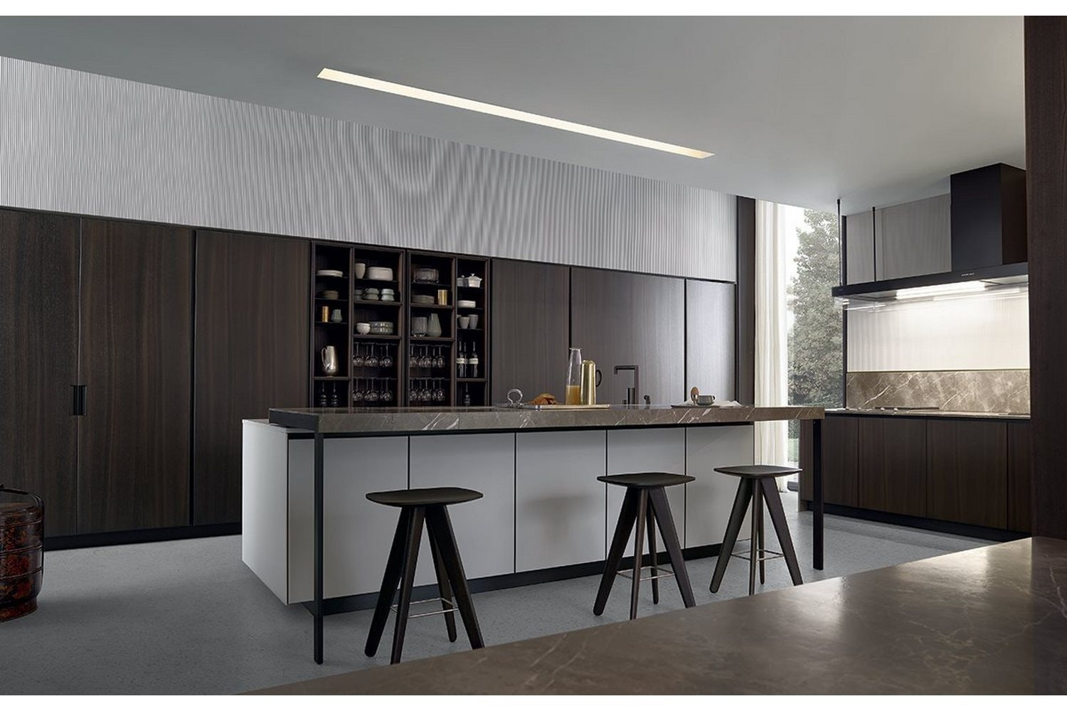 Arthena Kitchen by R&D Varenna for Poliform