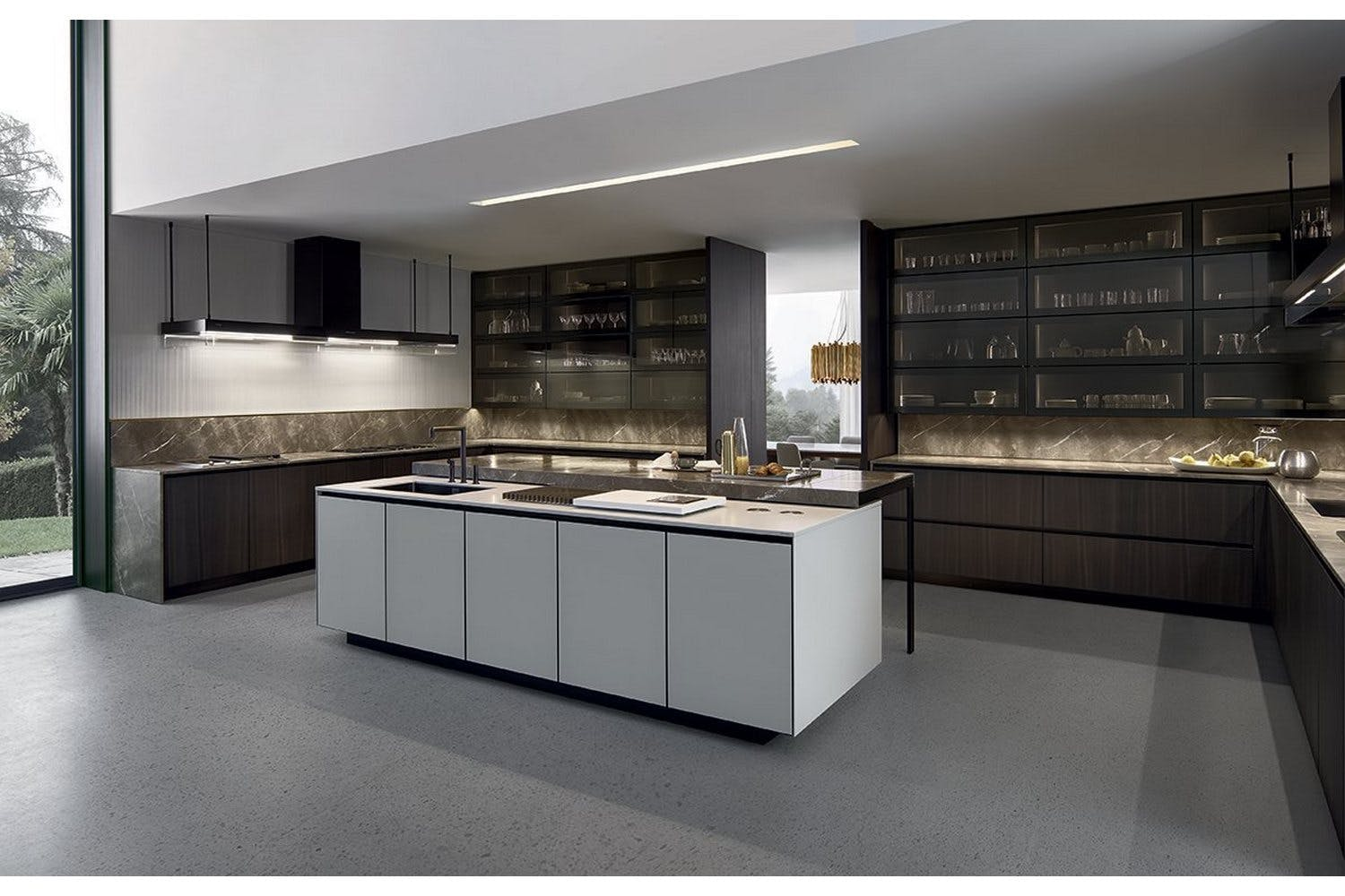 Poliform Kitchen Design.  Arthena Kitchen by R D Varenna for Poliform Furniture Australia
