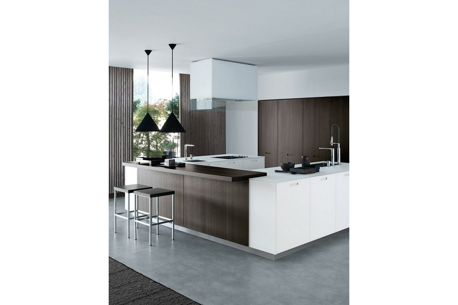 Kyton Kitchen by R&D Varenna for Poliform