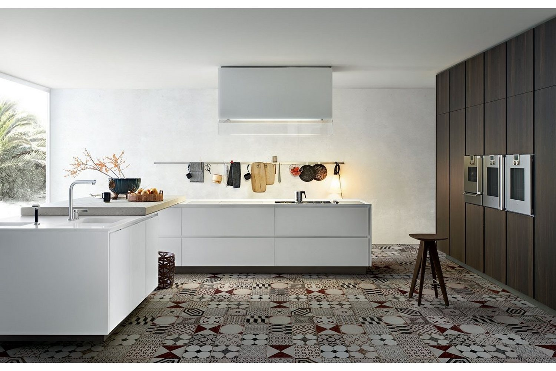 Elegant Matrix Kitchen By Ru0026D Varenna For Poliform ...