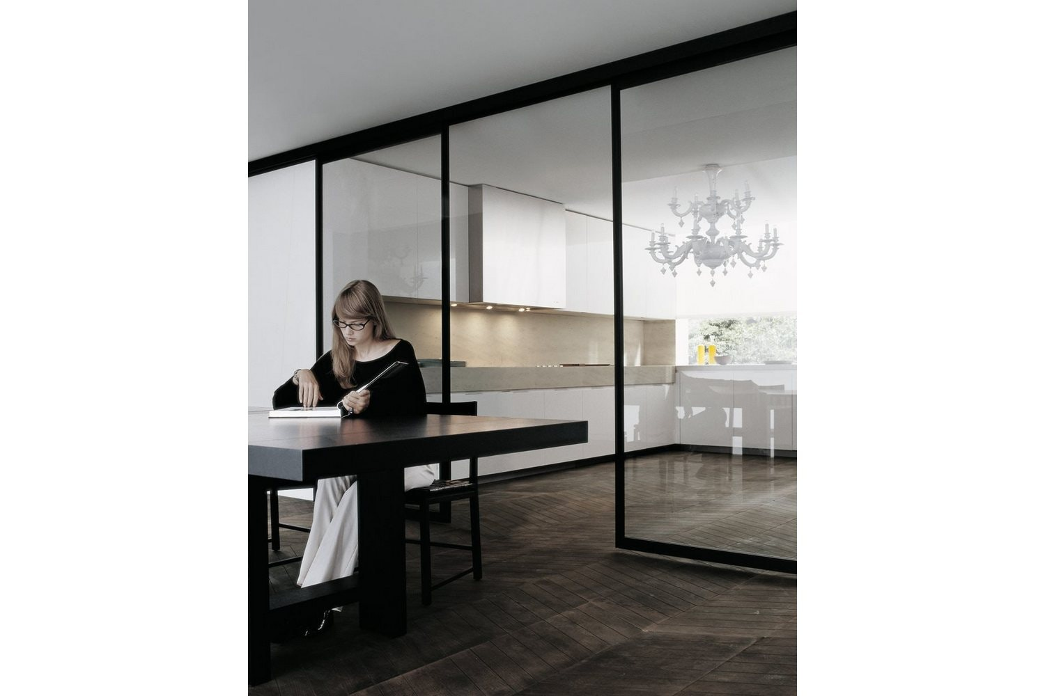Matrix Kitchen by R&D Varenna for Poliform