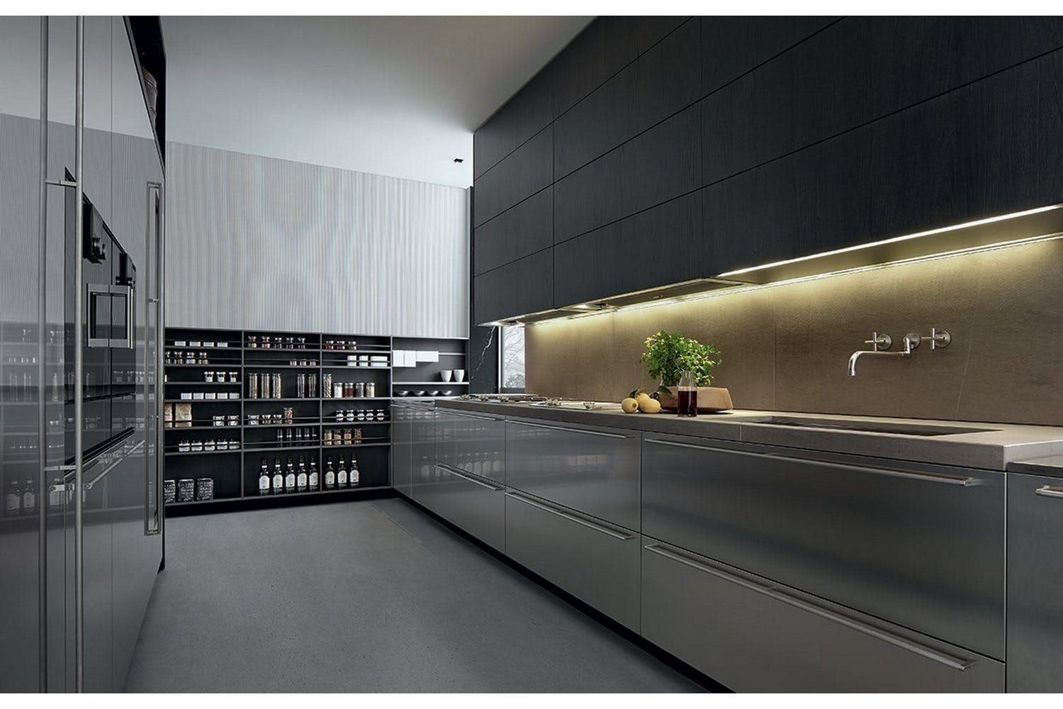 Poliform Kitchen Design. My Planet Kitchen by R D Varenna for Poliform Modern Kitchens  Luxury Contemporary Design