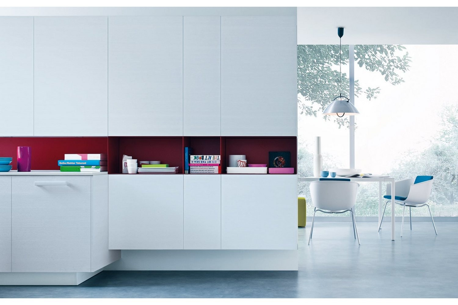 My Planet Kitchen by R&D Varenna for Poliform