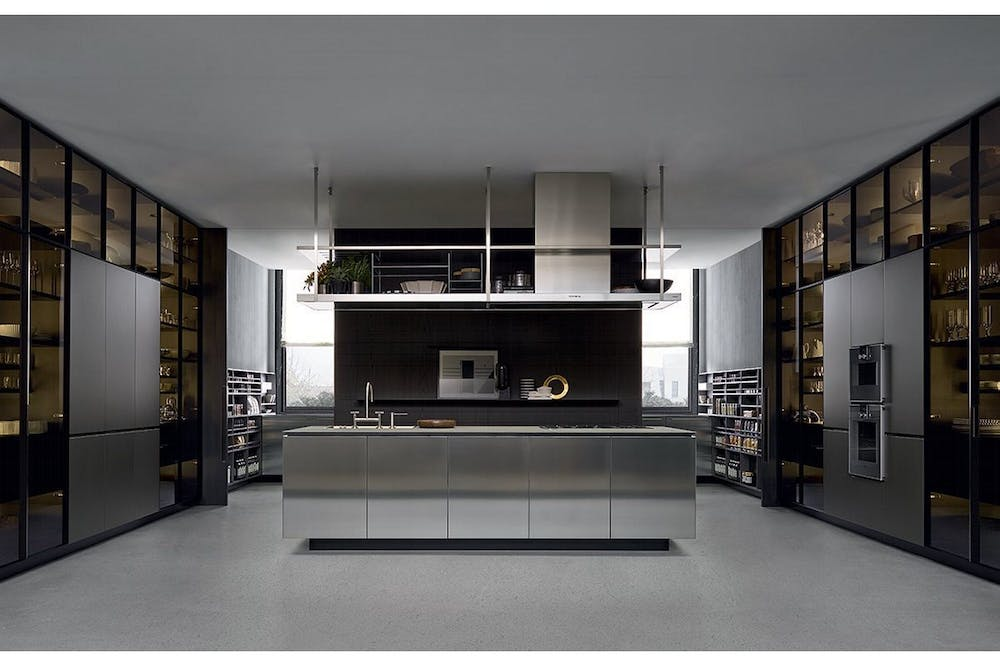 artex kitchen by rd varenna for poliform