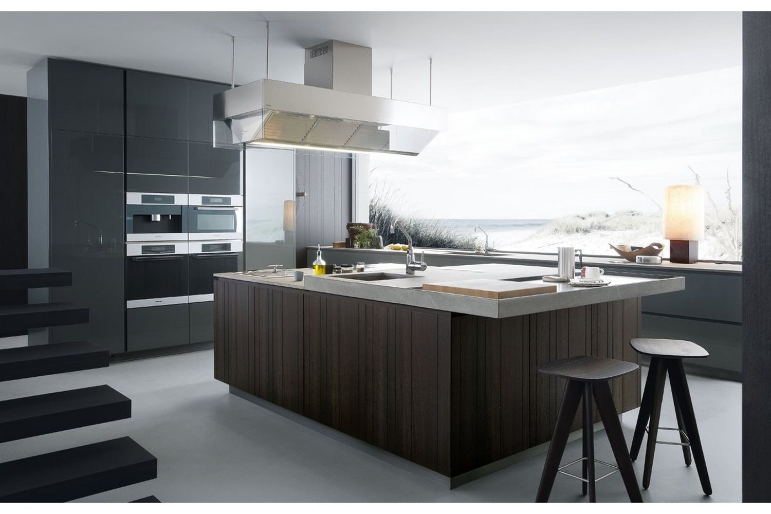 Artex Kitchen by R&D Varenna for Poliform
