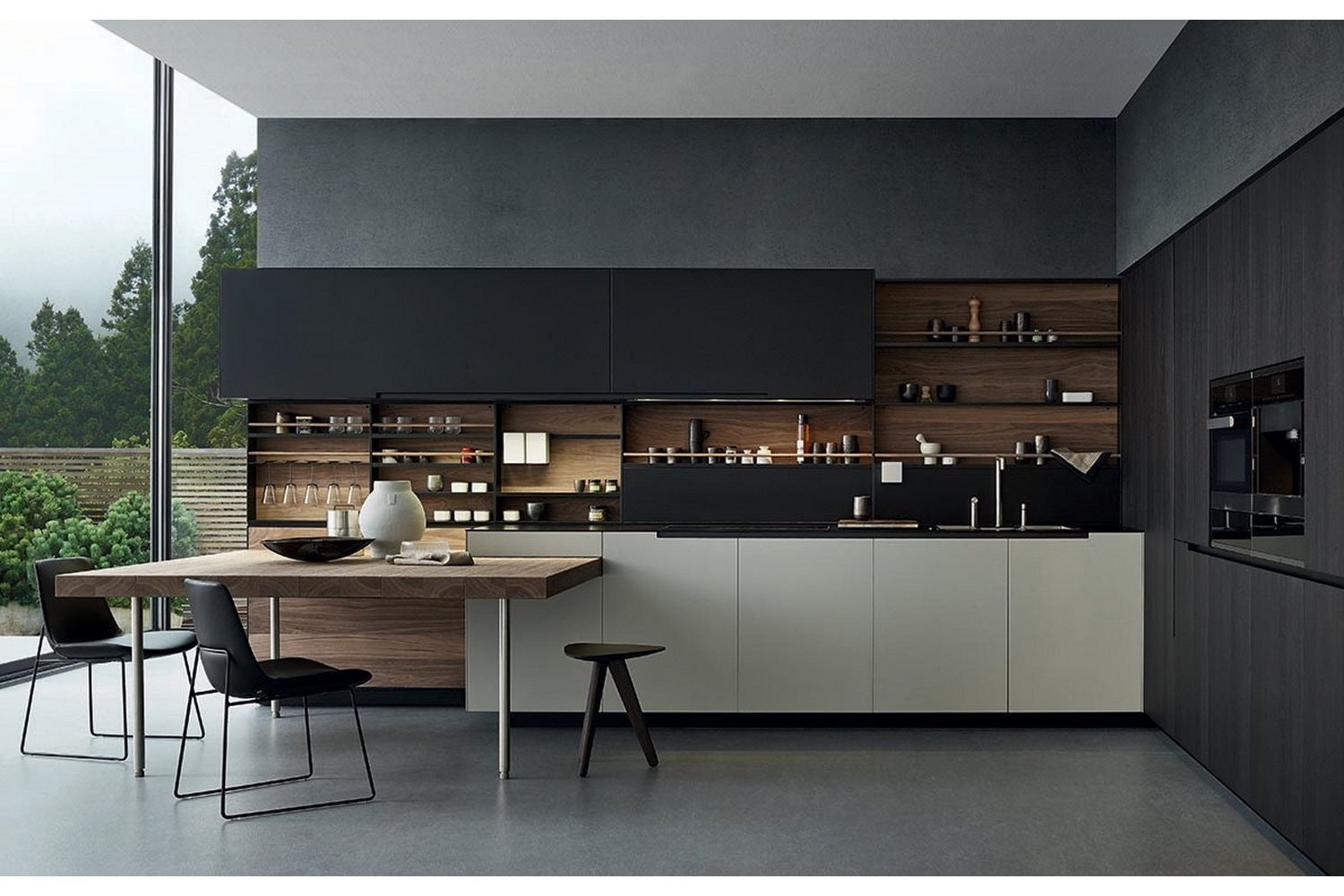 Phoenix Kitchen by R&D Varenna for Poliform
