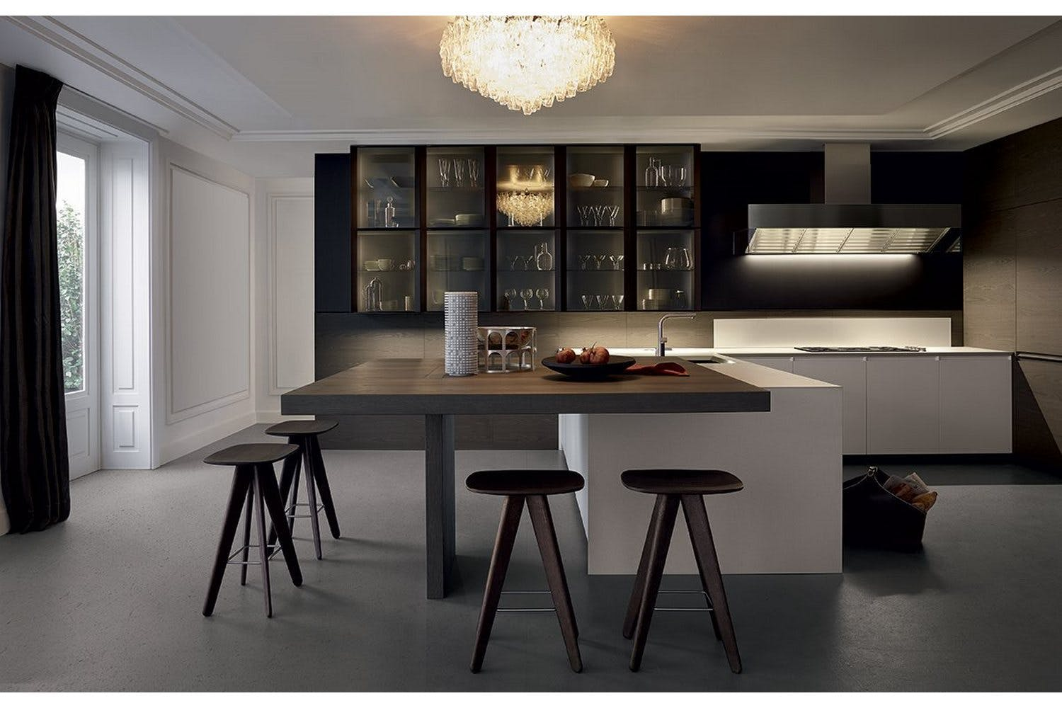 Poliform Kitchen Design. Trail Kitchen by Carlo Colombo  R D Varenna for Poliform Contemporary Designs Australia