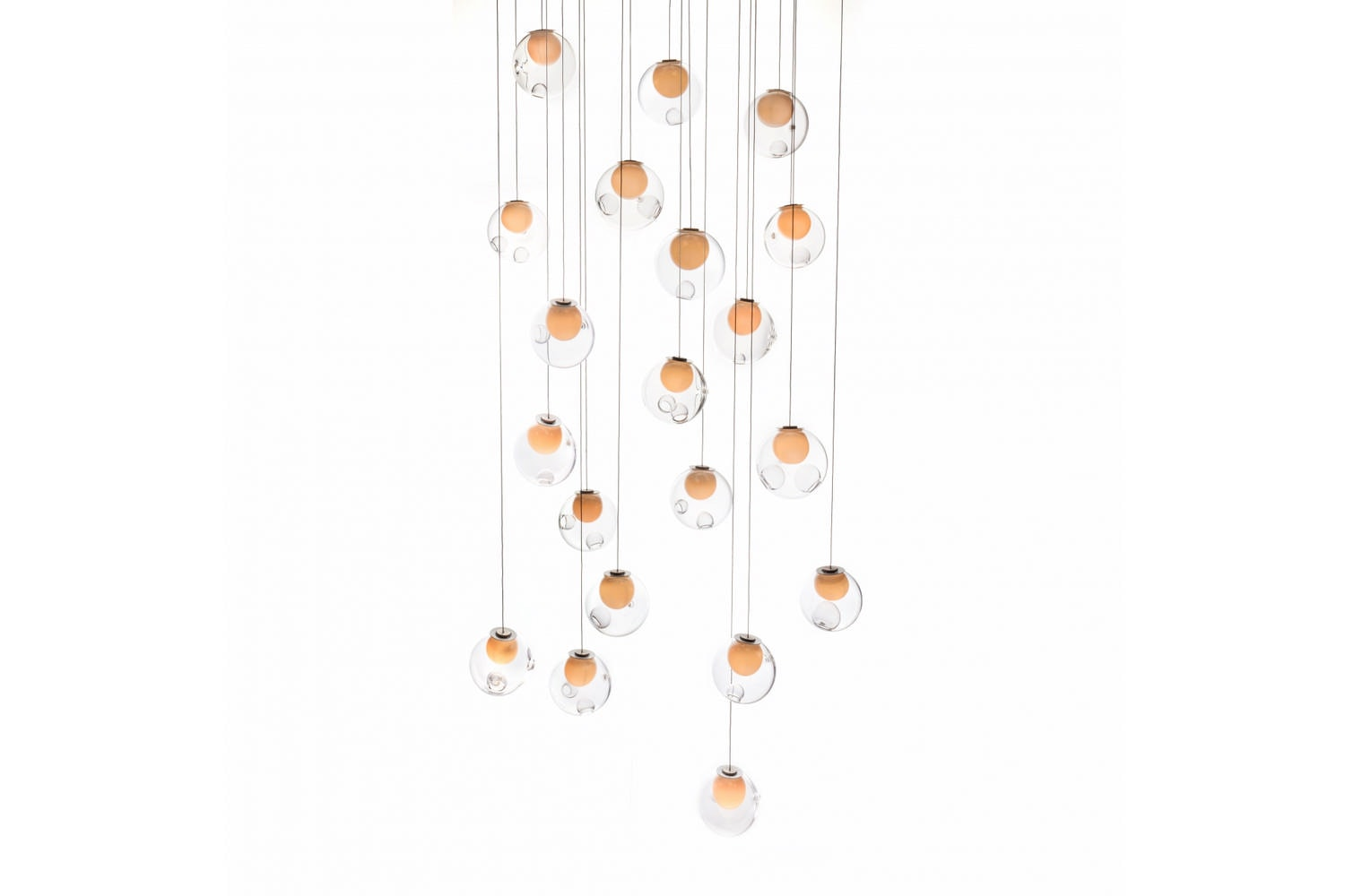 28.20 Random Suspension Lamp by Omer Arbel for Bocci