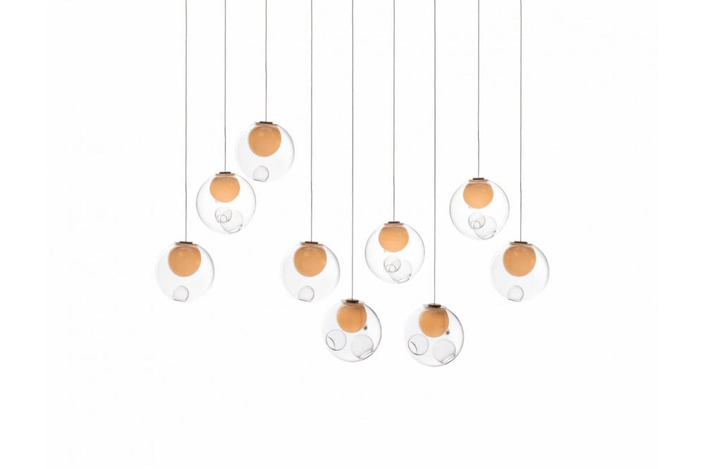 28.9 Random Suspension Lamp by Omer Arbel for Bocci